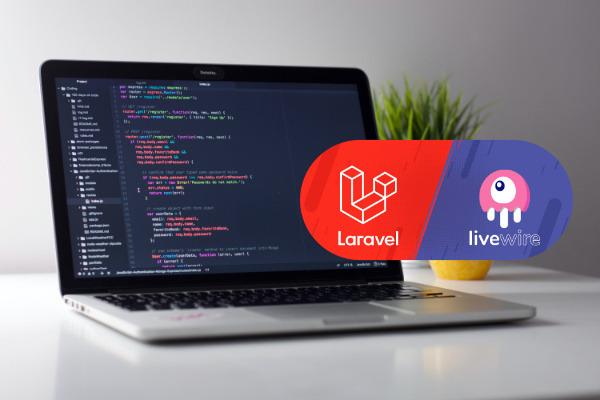 laravel - livewire - site web - plateforme web